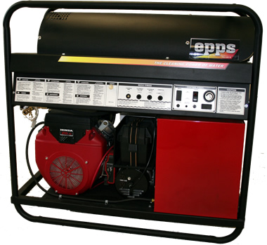 epps skid gas engine hot pressure washer