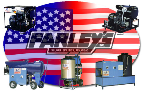 Farley's Inc , gemini, challenger, explorer, intrepid pressure washers and heaters