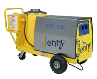 Oil or electric heated portable power washer