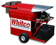Stinger series oil fired hot pressure washer, Whitco